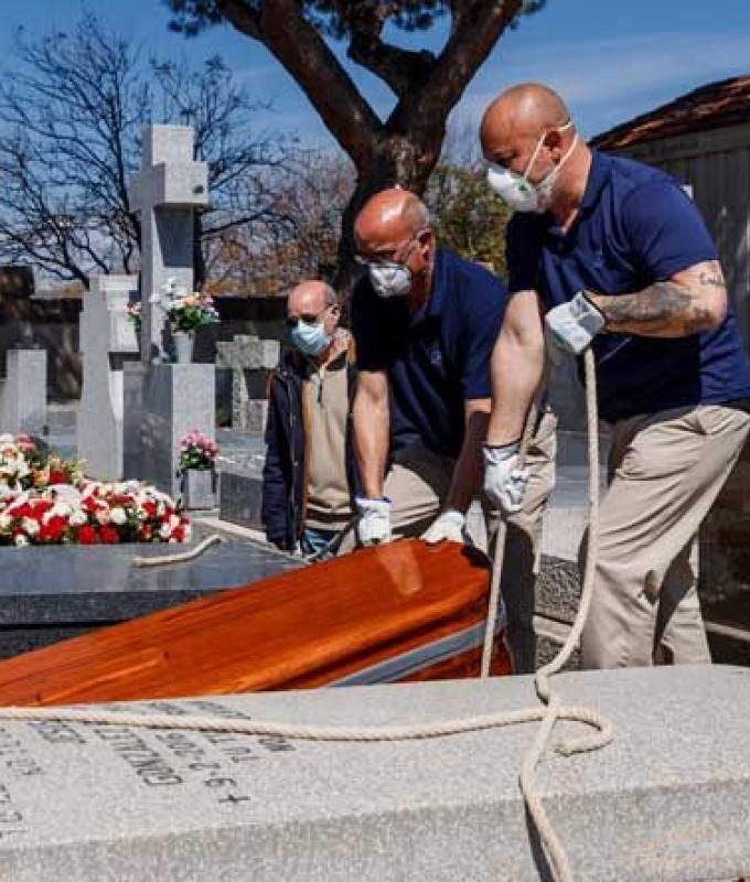 لليوم الثاني تراجع بأعداد الوفيات في اسبانيا