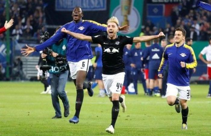 لايبزيغ يهزم هامبورغ ويبلغ نهائي كأس ألمانيا