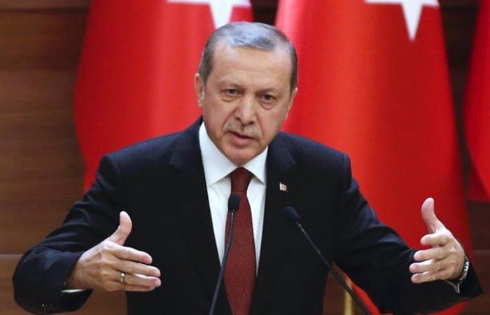 "أردوغان يدين ""هجوم أربيل"""