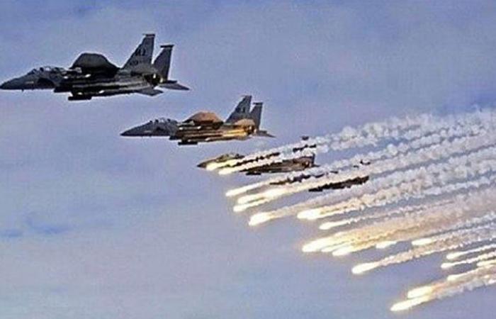 طائرات مجهولة تضرب مواقع جيش الأسد في البوكمال