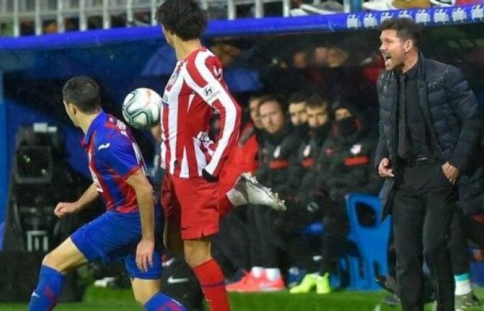 """إيبار يصعق أتلتيكو مدريد بثنائية في """"الليغا"""""""