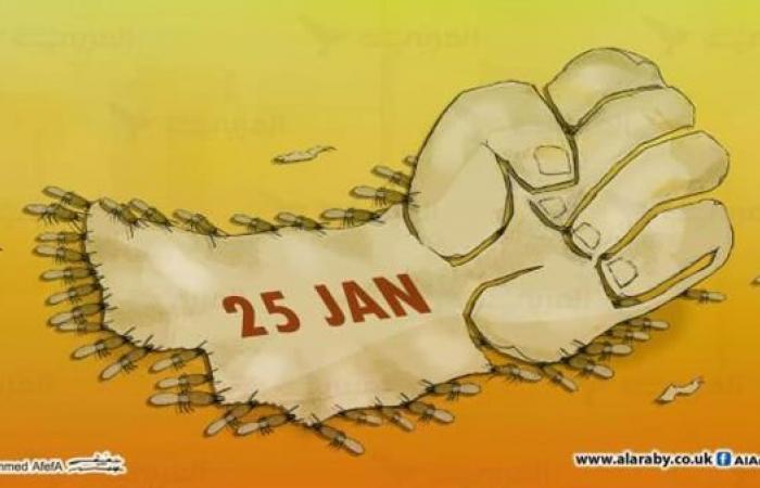 """""""25 يناير"""" المُخيف"""
