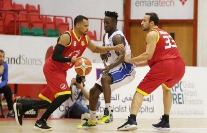 الرياضي يهزم فريق الجامعة الاميركية في بطولة دبي الدولية