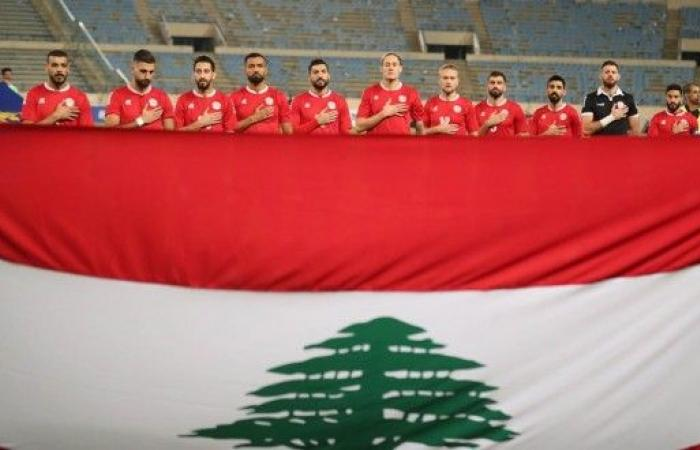 منتخب لبنان يتابع تحضيراته للقاء تركمانستان
