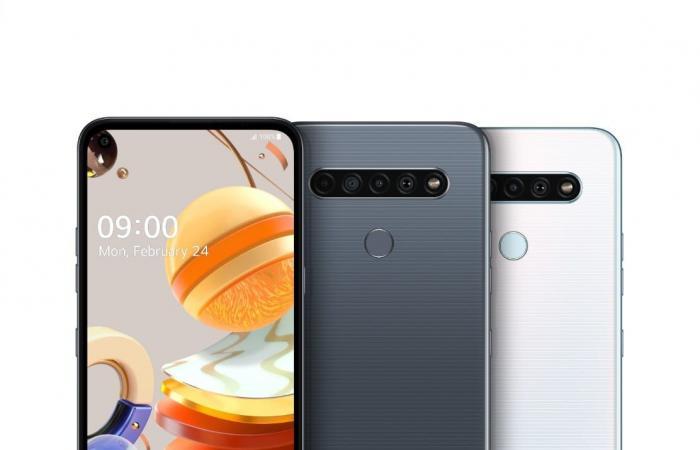 إل جي تعلن عن ثلاثة هواتف جديدة من سلسلة LG K