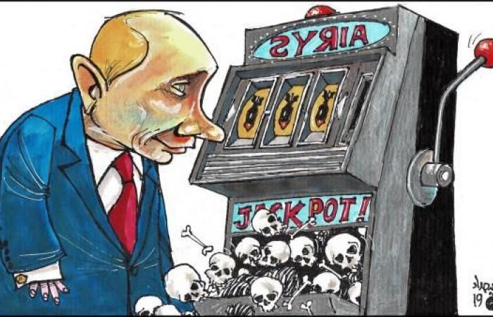 بوتين أسيراً عند الأسد