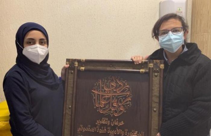 بلدية الخرايب تكرم الدكتورة غنوه الدقدوقي