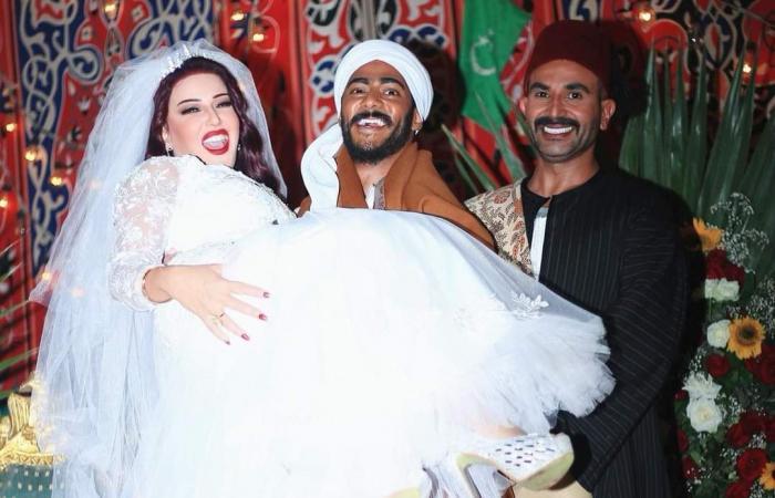 بعد فضائح وانفصال.. محمد رمضان يجمع سمية الخشاب بطليقها