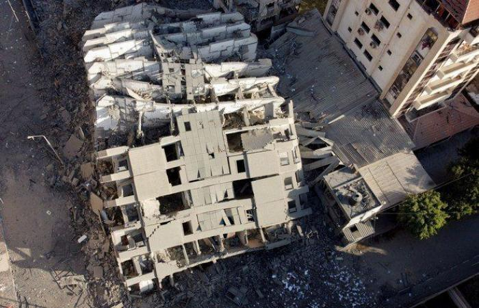 بالصور: كيف استفاقت غزة اليوم
