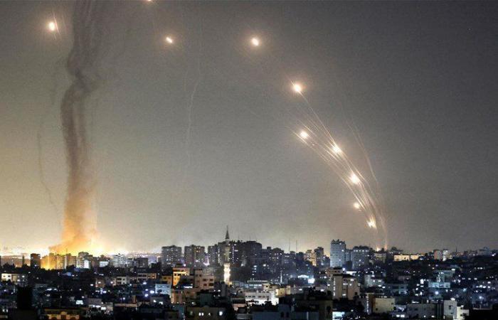 أكثر من ألف صاروخ أطلق من غزة على اسرائيل