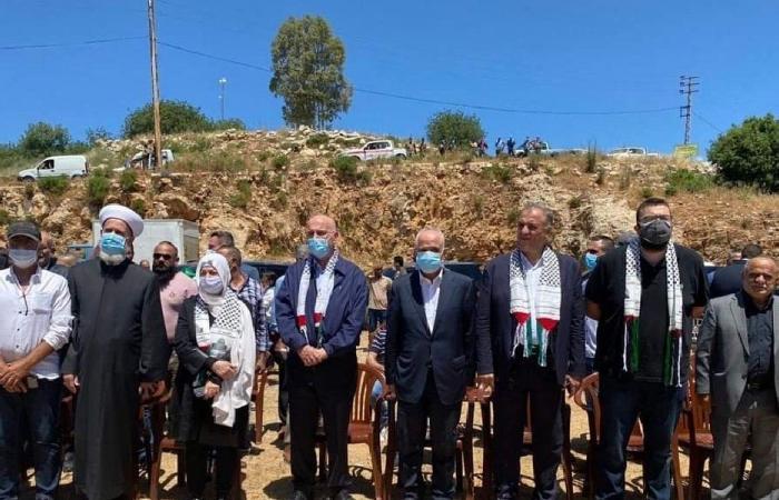 """""""المستقبل"""" يتضامن مع فلسطين… وقفة وكلمات استنكار"""