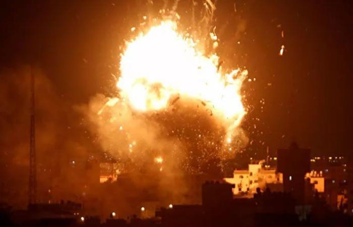 إسرائيل تشن غارة جوية على قطاع غزة