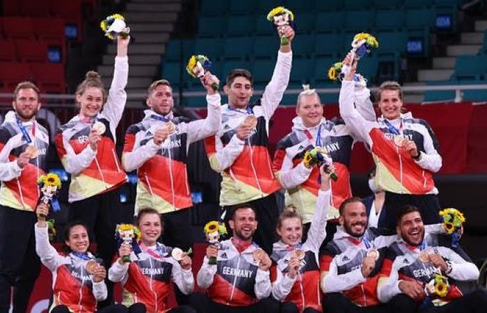 ألمانيا تستبعد إنهاء الأولمبياد ضمن المراكز الأولى لجدول الميداليات
