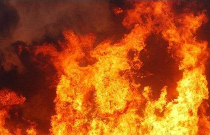 إخماد حريق في القموعة – فنيدق