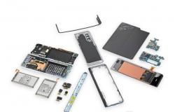 iFixit يفكك Galaxy Fold ويكشف عن نقطة ضعفه (صور)