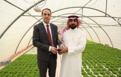 الريادة العربية تكرم رائد الأعمال عبدالرحمن السماعيل